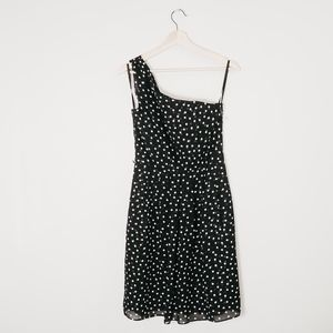 NWOT White House Black Market One Shoulder Dress 2